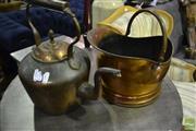 Sale 8472 - Lot 1050 - Copper Kettler Bucket and Gamebird