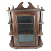 Sale 8607R - Lot 42 - Timber Wall Cabinet (H: 59cm)