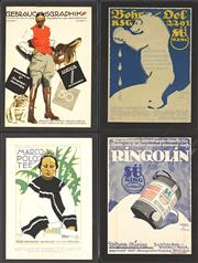Sale 8696A - Lot 5085 - Ludwig Hohlwein (1874 - 1949) (32 works) - Advertisements 33 x 25cm