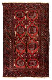 Sale 8715C - Lot 149 - A Persian Balouchi Village Rug, Wool On Wool Foundation Classed As Tribal Rugs, 204 x 126cm