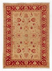 Sale 8780C - Lot 243 - An Afghan Chobi Top Quality Natural Dyes 100% Wool Pile, 170 x 240cm