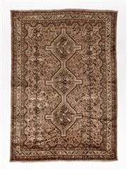 Sale 8790C - Lot 79 - A Persian Turkaman, Wool On Cotton Foundation Classed As Tribal Rugs, 235 x 165cm