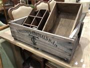 Sale 8822 - Lot 1816 - Collection of Vintage Crates