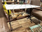 Sale 8896 - Lot 1060 - Waterproofed Marble Top Table