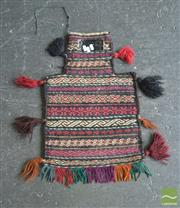Sale 8455 - Lot 1028 - Persian Salt Bag (60 x 40cm)