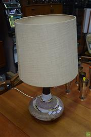Sale 8550 - Lot 1071 - West German Style Table Lamp