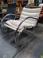 Sale 8585 - Lot 1050 - Mies Van Der Rohe Cantilever Chair