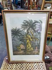 Sale 8613 - Lot 2060 - After John Webber (1752 - 1793) The Plantain Tree: on the Island of Cracatoa, hand coloured engraving, 36.5 x 26.5cm, Published by...