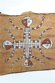 Sale 8729 - Lot 65 - Indigenous Bark Painting