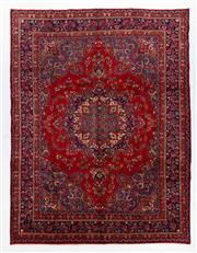 Sale 8760C - Lot 14 - A Persian Khorasan 100% Wool Pile, 390 x 300cm
