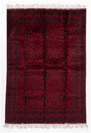 Sale 8780C - Lot 244 - An Afghan Khal Mohammadi 100% Wool Pile, 242 x 168cm