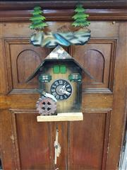 Sale 8889 - Lot 1073 - Timber Cuckoo Clock
