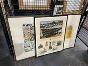 Sale 8924 - Lot 2024 - Geoffrey Harvey (3 works) Day Dream; For Real Ben (Bondi Beach); Pride of Placescreenprints, each 65.5 x 52cm (frames) and signed