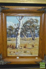 Sale 8425T - Lot 2020 - Ritchey Sealy (XX) - Dry Summer, Forbes 50 x 39.5cm