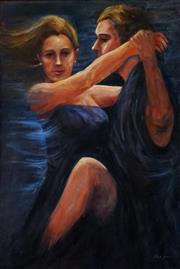 Sale 8506 - Lot 2087 - Jillian Jessen - Tango Passion 61 x 91.5cm