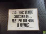 Sale 8513 - Lot 2086 - Hotel Sign