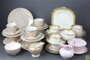 Sale 8608 - Lot 58 - Teawares incl Empire, Aynsley & Tuscan (AF)