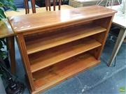 Sale 8601 - Lot 1322 - Pine Open Bookcase
