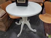Sale 8601 - Lot 1496 - Glass Top Occasional Table