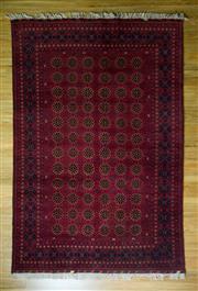 Sale 8672C - Lot 7 - Afghan Mazari 300cm x 200cm