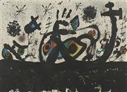 Sale 8713 - Lot 565 - Joan Miro (1893 - 1983) - Untitled 54 x 75cm