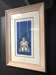 Sale 8789 - Lot 2094 - 2 Artworks inc After Claude Monet Sunrise 1872 giclee print & Wilson - Rings