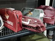 Sale 8809B - Lot 676 - Collection of 4 Vintage Airline Travel Bag inc Qantas (a/f)