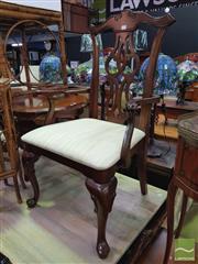 Sale 8447 - Lot 1052 - Pair of Georgian Style Carvers