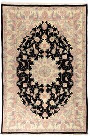 Sale 8715C - Lot 115 - A Persian Tabriz Fine Wool And Silk Inlaid, 238 x 157cm