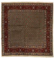 Sale 8780C - Lot 246 - An Iranian Mood Rug, Khorasan Region, Very Fine Wool And Silk Pile., 206 x 201cm