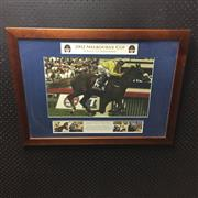 Sale 8828 - Lot 2049 - A Race to Remember, 2002 Melbourne Cup, framed