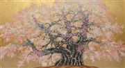 Sale 8896A - Lot 5075 - Hajime Namiki (1947 - ) - Kubuzakura at Isazawa 2001 37 x 69 cm