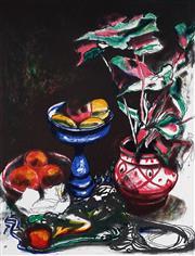 Sale 9032A - Lot 5013 - Fred Cress (1938 - 2009) - Blue Vase, 1989 62 x 89 cm (sheet)