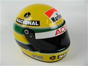 Sale 8450S - Lot 777 - Ayrton Senna Replica Helmet