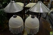 Sale 8472 - Lot 1044 - Two Pairs of Table Lamps