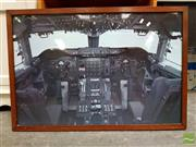 Sale 8478 - Lot 2007 - Print of a Cockpit