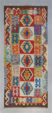 Sale 8499C - Lot 71 - Persian Kilim Chobi 179cm x 78cm