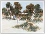 Sale 8589R - Lot 62 - Richard Bogusz - Oil on Board (57 x 42cm)