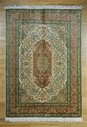 Sale 8672C - Lot 9 - Super Fine Kashmiri Silk 225cm x 153cm