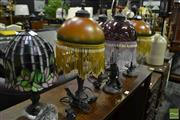 Sale 8472 - Lot 1056 - Three Pairs of Table Lamps