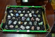 Sale 8515 - Lot 1045 - Box Polished Rocks & Gemstones