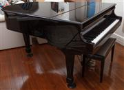 Sale 8990H - Lot 16 - An Alex Steinbach baby grand piano, Width 146cm with stool