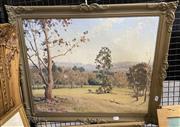 Sale 9011 - Lot 2040 - F. Roberts - Landscape with Buildings, Oil, SLL, 44x53.5cm