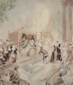 Sale 9170A - Lot 5050 - NORMAN LINDSAY (1879 - 1969) City of Joy limited edition print certificate verso
