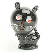 Sale 8393B - Lot 66 - Art Glass Black Cat