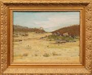 Sale 8655 - Lot 2055 - Dorothy Allen Edwards (1907 - ) - Victorian Countryscape 27.5 x 35.5cm