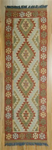 Sale 8657C - Lot 39 - Persian Kilim 207cm x 68cm