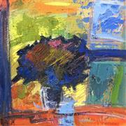 Sale 8722A - Lot 5027 - Laura Matthews (1964 - ) - Study: Still Life & Interior 28 x 28cm