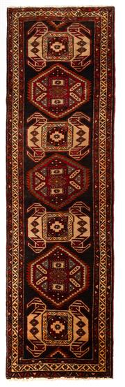 Sale 8780C - Lot 249 - A Persian Ardabil From Azerbaijan Region 100% Wool Pile On Cotton Foundation, 390 x 110cm
