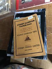 Sale 8819 - Lot 2432 - 3 Volumes Sydney Ferries Ltd. Sydney Harbour Panorama; Sydney Harbour Souvenir & Guide Book; Andrews, G. The Ferries of Sydney